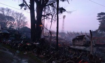 El municipio denunció que el incendio en Tránsito habría sido intencional