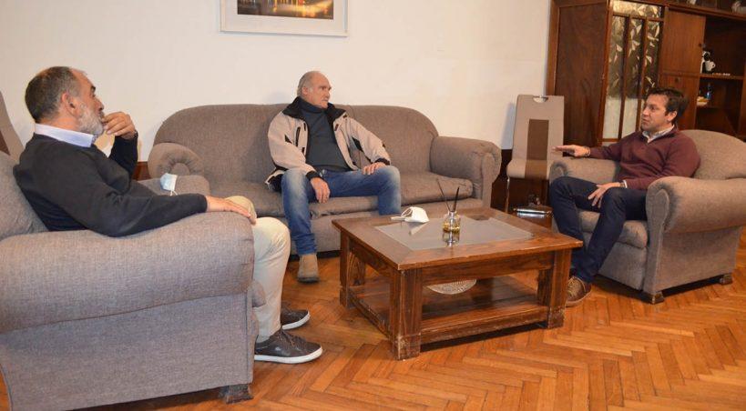 Reunión entre Álvaro y Rojas para avanzar en obras conjuntas