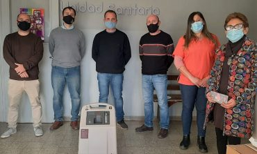 Donaron tres concentradores de oxígeno a la Unidad Sanitaria de La Dulce